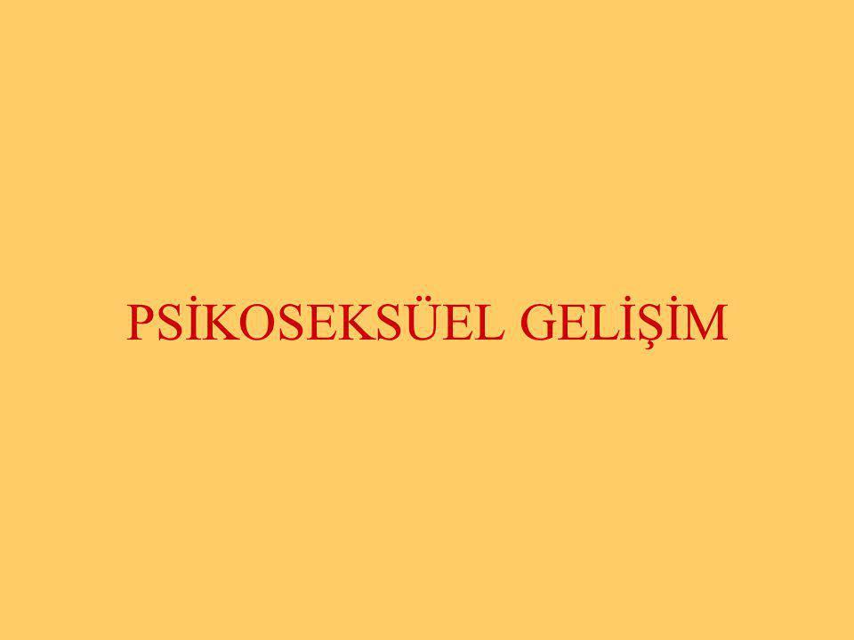 Halil KARAKUŞ PSİKOSEKSÜEL GELİŞİM