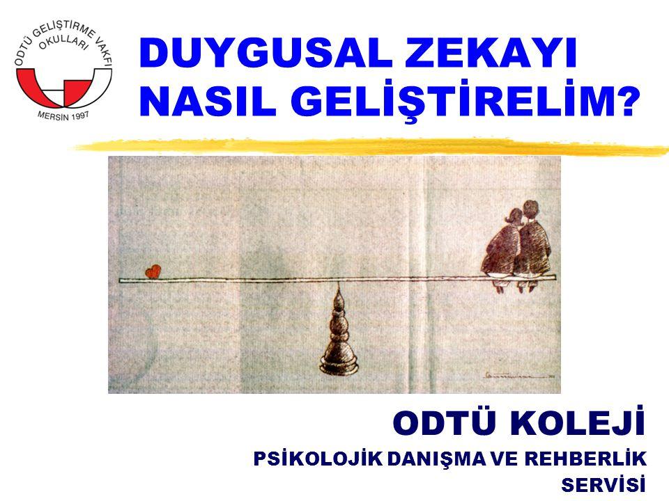 YAPILAN ARAŞTIRMALAR GÖSTERİYOR Kİ...