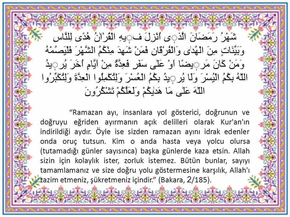 Peygamber efendimiz Medine de hicretin ikinci yılında ramazan orucunun farz kılınmasından itibaren ömrünün sonuna kadar her ramazan ayının son on gününde itikafa girmiştir.