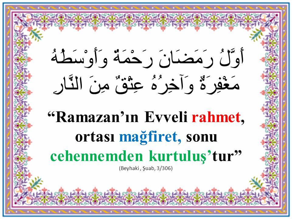 Ramazan Kelimesinin Anlamı Ramazan kelimesinin manası ve bu mübarek aya Ramazan isminin verilmesindeki hikmet şöyle belirtilmiştir: a- Ramazan, yaz sonunda güz mevsiminin evvelinde yağıp yeryüzünü tozdan temizleyen yağmur manasına ramda kelimesinden alınmıştır.