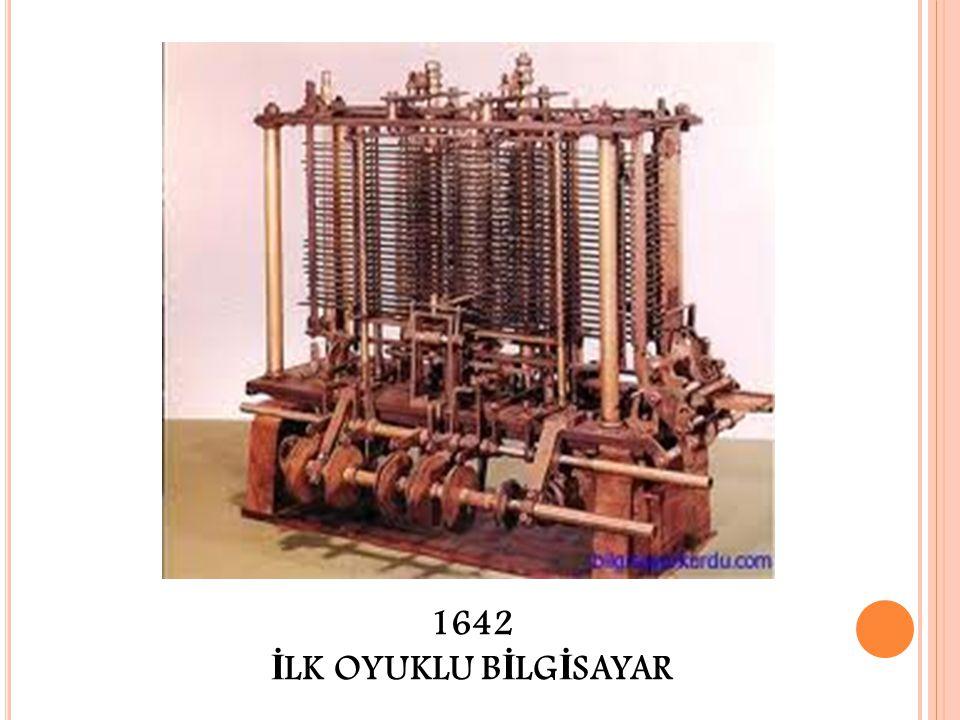 1642 İ LK OYUKLU B İ LG İ SAYAR