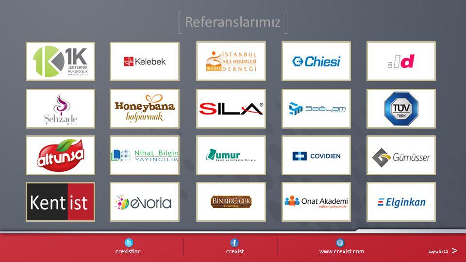 crexistinc crexist www.crexist.com Sayfa 8/11 > Referanslarımız