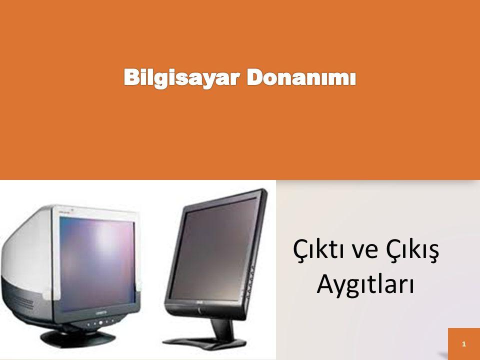LCD – CRT arasındaki farklar • LCD monitörler, her şeyden önce CRT monitörlerden daha az yer kaplarlar.