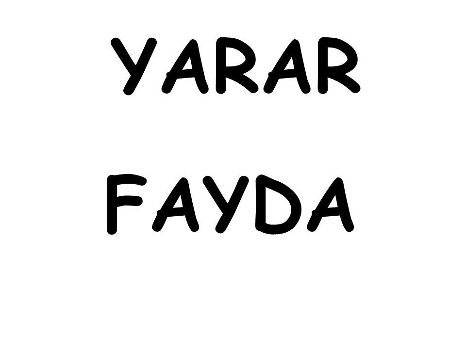 YARAR FAYDA