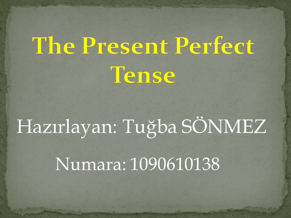 Hazırlayan: Tuğba SÖNMEZ Numara: 1090610138