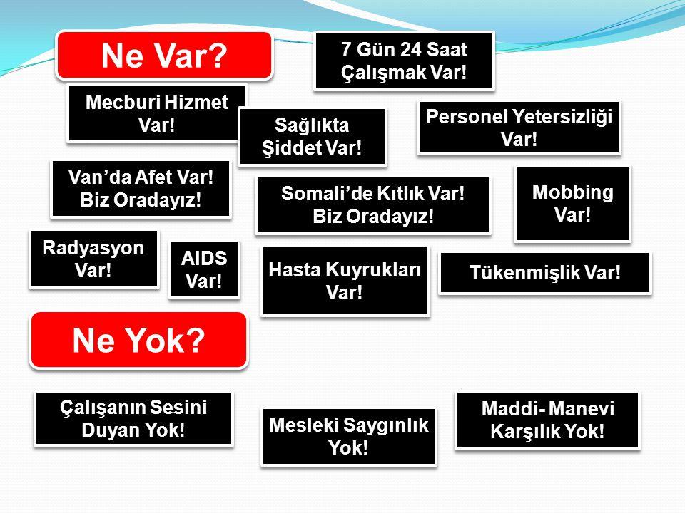 SAĞLIKTA ŞİDDET ARTMAKTADIR!