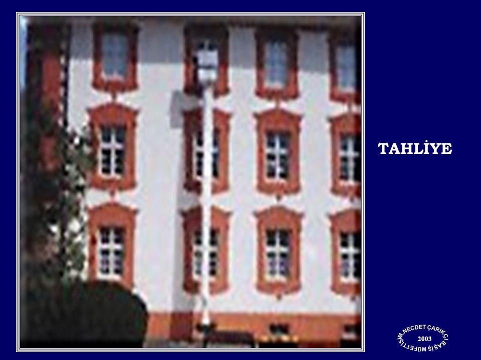 2003 TAHLİYE