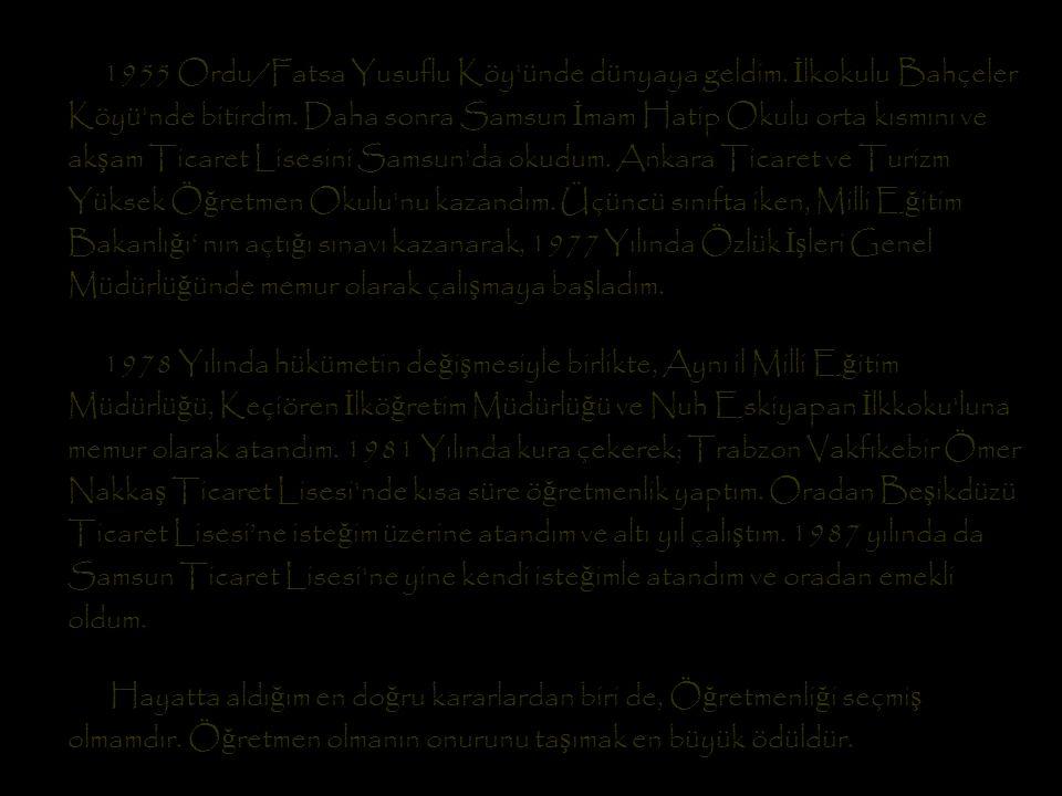Ş iirlerimin bir bölümüne, sevgili ye ğ enim Ertan Gümü ş, Kendi çizim ve sayfa düzeni ile slayt gösterisi hazırlayıp gönderdi.