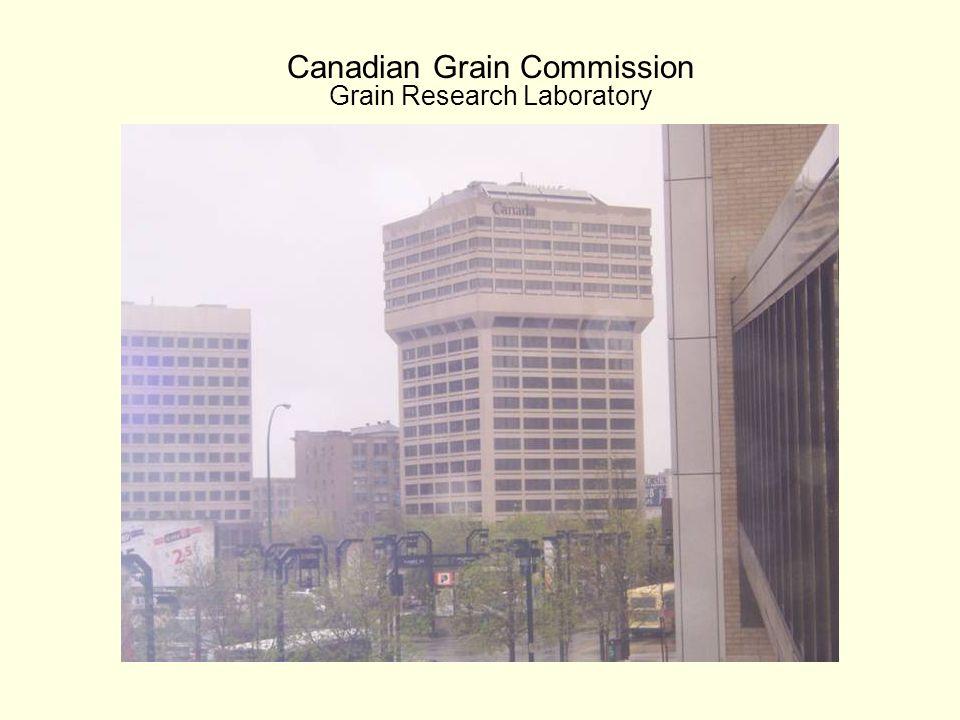 Canadian Grain Commission Grain Research Laboratory