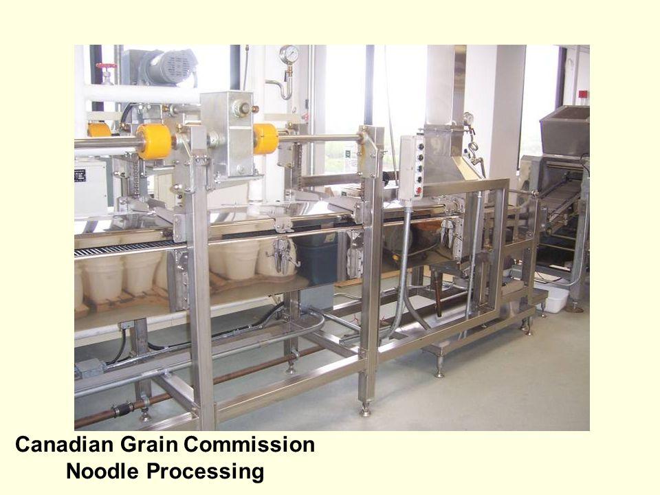 Canadian Grain Commission Noodle Processing