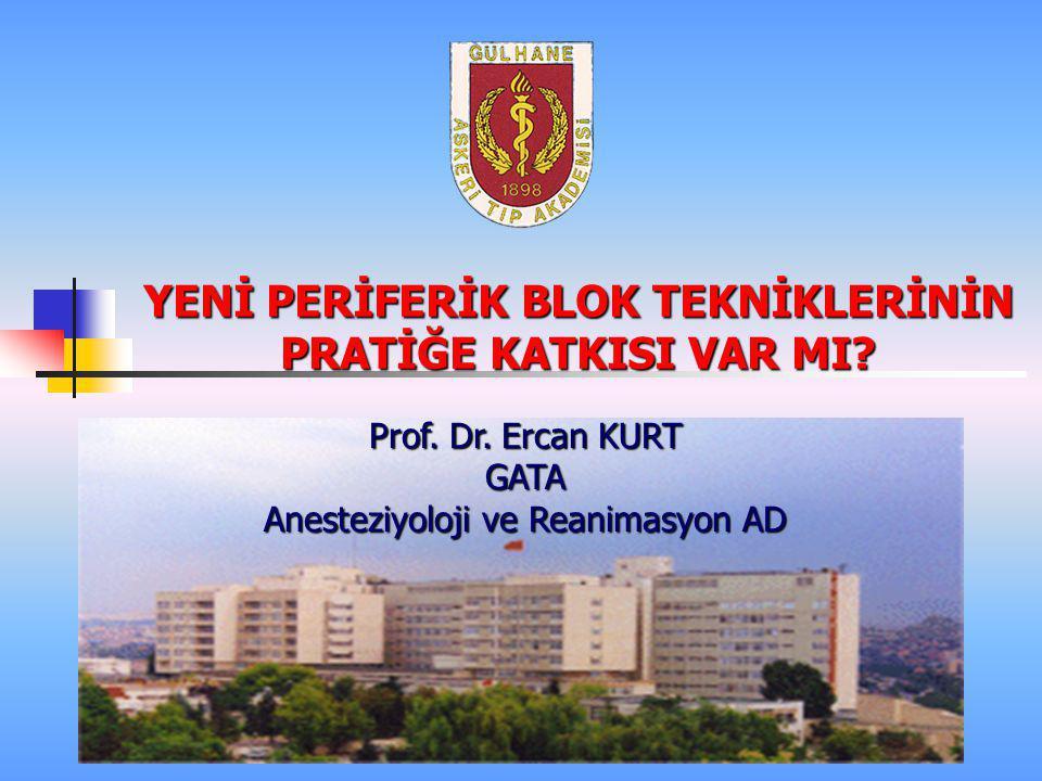 Siyatik Sinir Bloğu  Parasacral sciatic nerve block: does the elicited motor response predict the success rate.