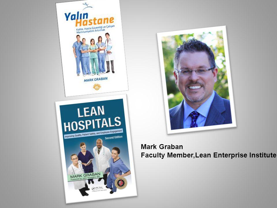 Mark Graban Faculty Member,Lean Enterprise Institute