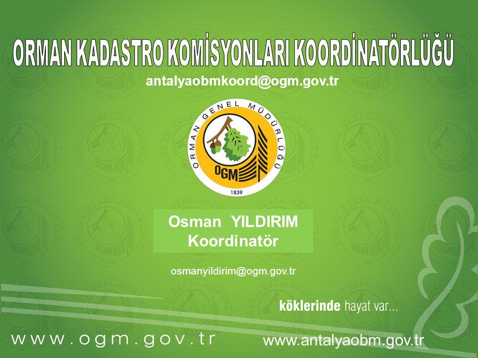 ……… Şube Müdürlüğü A)- 2010 yılında Orman Kadastro Komisyonlarınca; A-1) 5831 sayılı yasa kapsamında 2/B kadastrosu ve güncelleme çalışmaları için orman sınır noktalarının aplikasyonu, A-2) 4999 sayılı yasa kapsamında fenni hata düzeltmeleri, A-3) 3302 sayılı yasa kapsamında 2/B çalışmaları, A-4) Yöne I.
