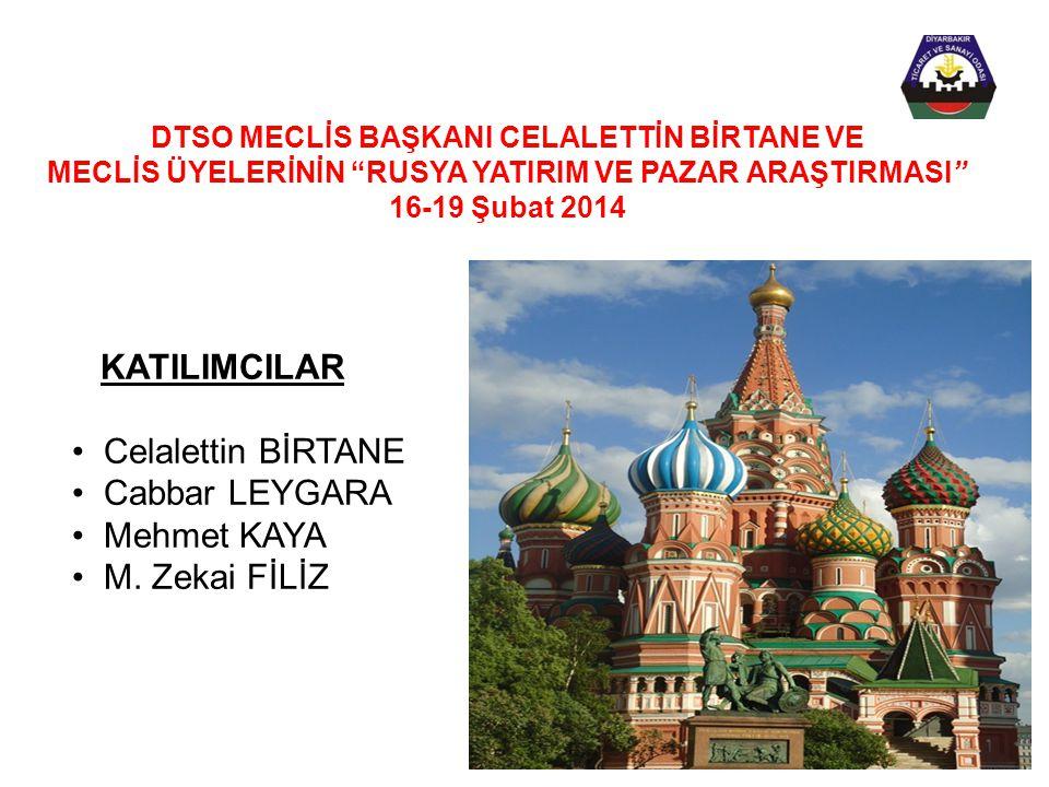 KATILIMCILAR • Celalettin BİRTANE • Cabbar LEYGARA • Mehmet KAYA • M.