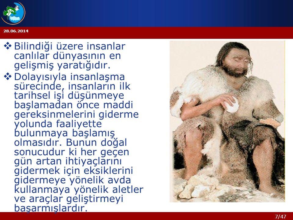 18/47 28.06.2014 Hayvanlardaki kadar merhamet avcılarımızda var mı acaba