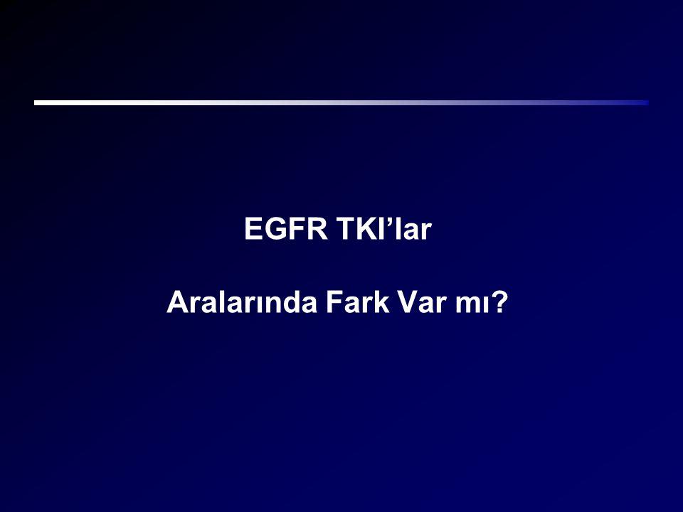 EGFR TKI'lar Aralarında Fark Var mı?