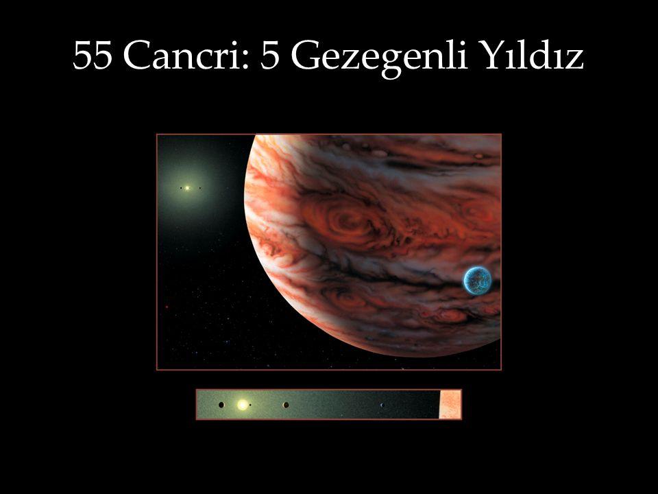 55 Cancri: 5 Gezegenli Yıldız Artist Rendering by Lynette Cook