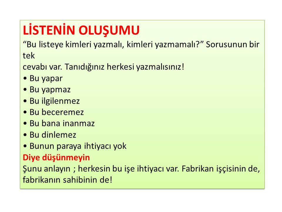 Gerçek bir diyalog ; - Merhaba Ahmet Bey, çalıştığım network marketing organizasyonu hakkında bilgi almak için mesaj bırakmışsınız.