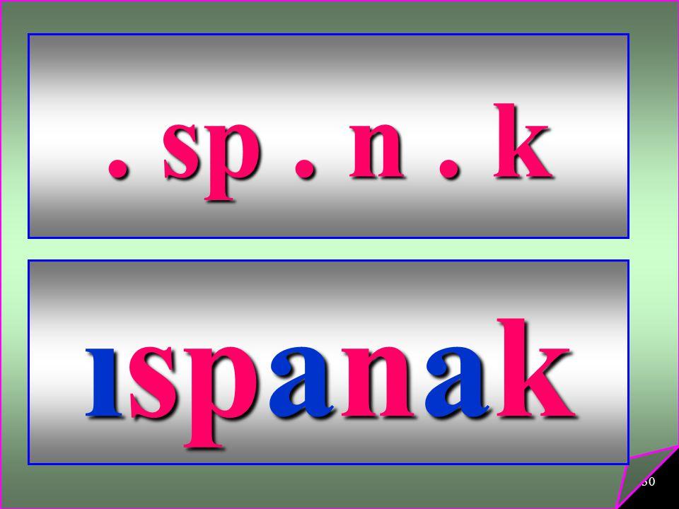 30. sp. n. k ıspanak