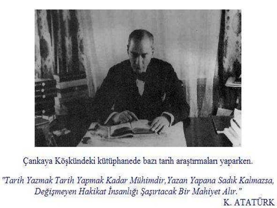 Atatürk'ün direktifleriyle, 16 üye tarafından, 15 Nisan 1931' de