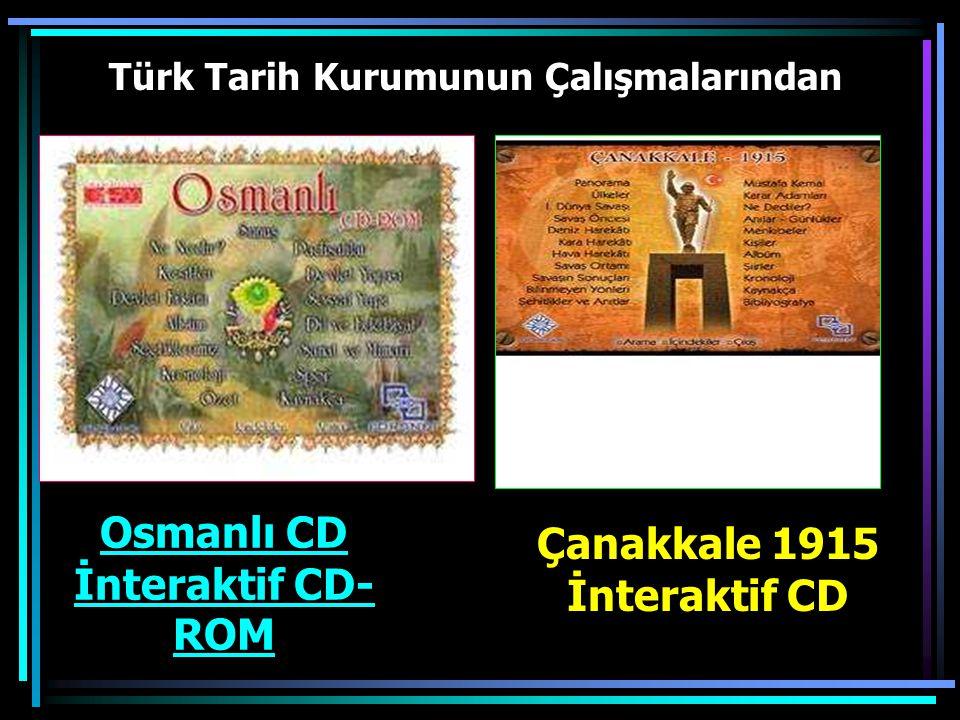 Türk Tarih Kurumunun Çalışmalarından Ermeni Sorunu ile ilgili CD
