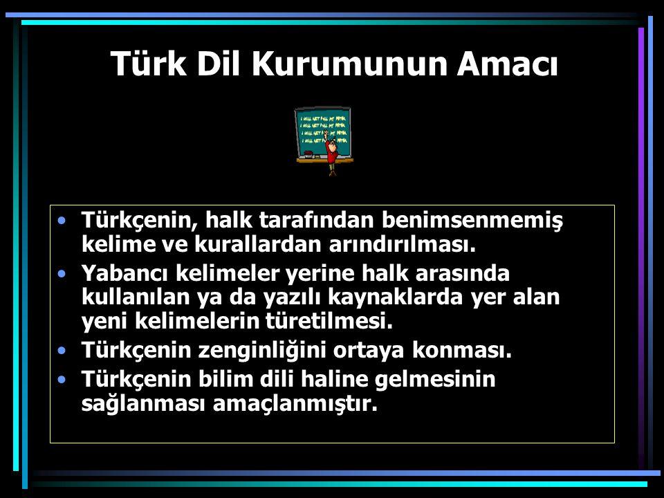 Atatürk, dil çalışmalarının planlı bir şekilde yapılmasını sağlamak amacıyla Türk Dil Kurumu'nu kurdu (12 Temmuz 1932)