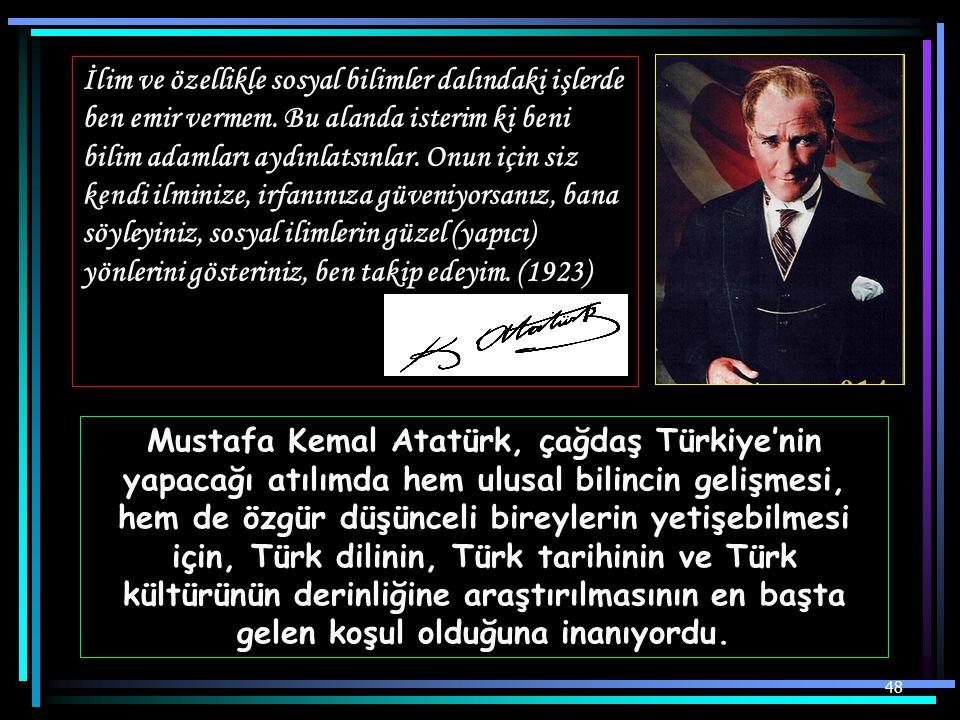 Cumhurbaşkanı Gazi Mustafa Kemal, İstanbul Üniversitesinde öğrenciler arasında ders dinlerken (15 Aralık 1930 )