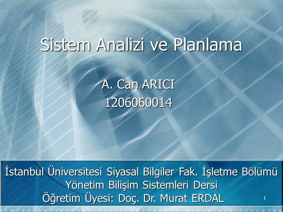 2 Sunum Planı  Genel Kavramlar  Sistem  Genel Sistem Teorisi  Bilgi Sistemleri  Sistem Analisti  Sistem Geliştirme Hayat Döngüsü  Sistem Tasarım ve Analiz Aşamaları  Ön İnceleme Fizibilite  Sistem Analizi  Sistem Tasarımı  Sistem Gerçekleştirme  Sistem Operasyon ve Destek