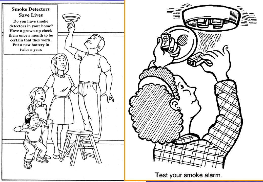 34 Konut Yangınlarında tahliye zamanı çok kısıtlıdır... Evinizde duman detektörü var mı?