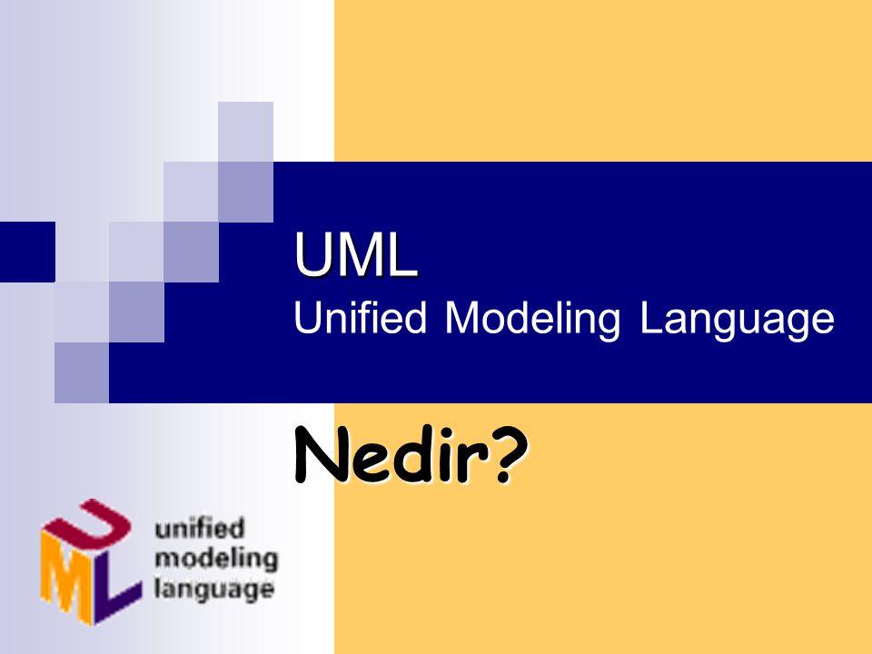 UML Unified Modeling Language Nedir?