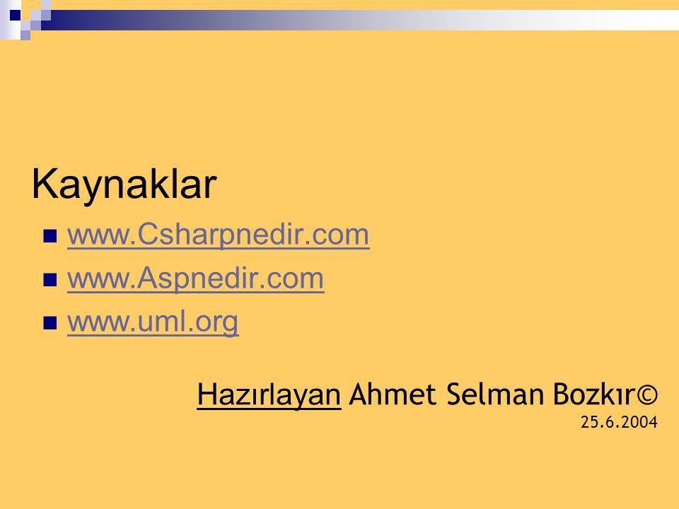 Bir Örnek  web sayfasına gelen bir kullanıcının neler yapabileceğini use case diyagramlarıyla göstermeye çalışalım. Siteye gelen bir kullanıcı kayıts