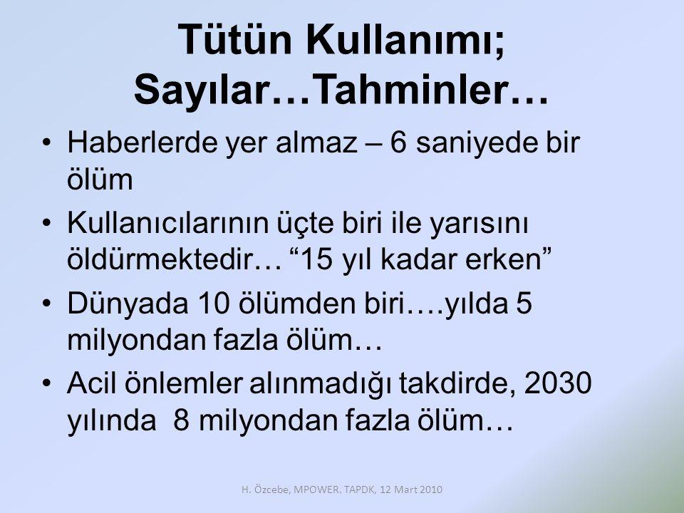 Türkiye- TKÇS •28 Nisan 2004; imzalama- Sağlık Bakanlığı •25 Kasım 2004; kabul edilme – TBMM •30 Kasım 2004 tarih ve 25656 sayılı Resmi Gazetede 5261 kanun numarası ile yayımlanarak yürürlüğe girmiştir.