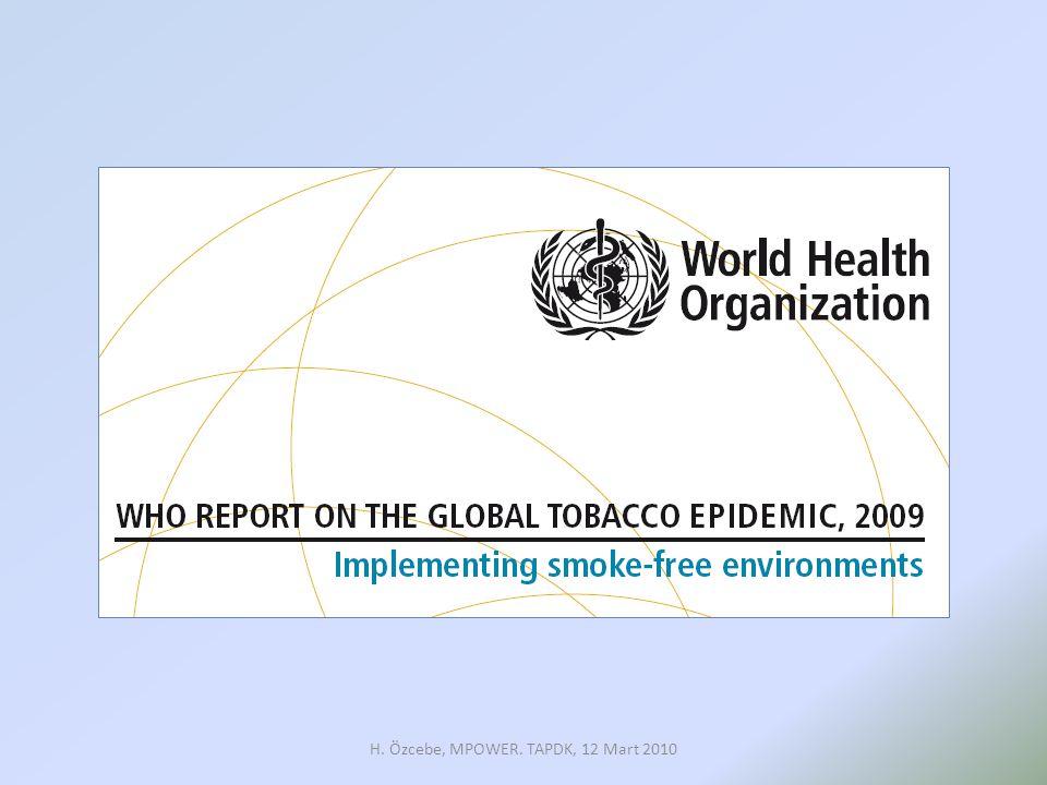 Tütün Endüstrisi; •Zorlama ile olamayacağı, •Özellikle restoran ve barlarda olmak üzere işyerlerinin müşteri kaybedeceği •Sigara içenlerin hakları OYSA… H.