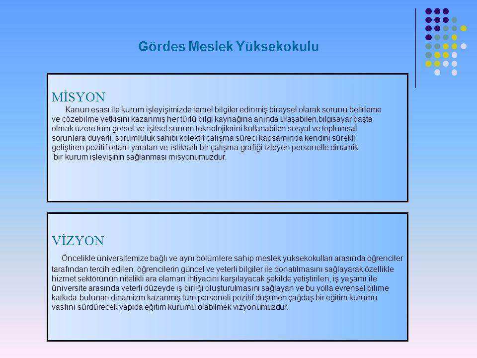 Müdür Yrd.Doç. Dr. Ahmet ÖZTÜRK Müdür Yardımcısı Ögr.Gör.