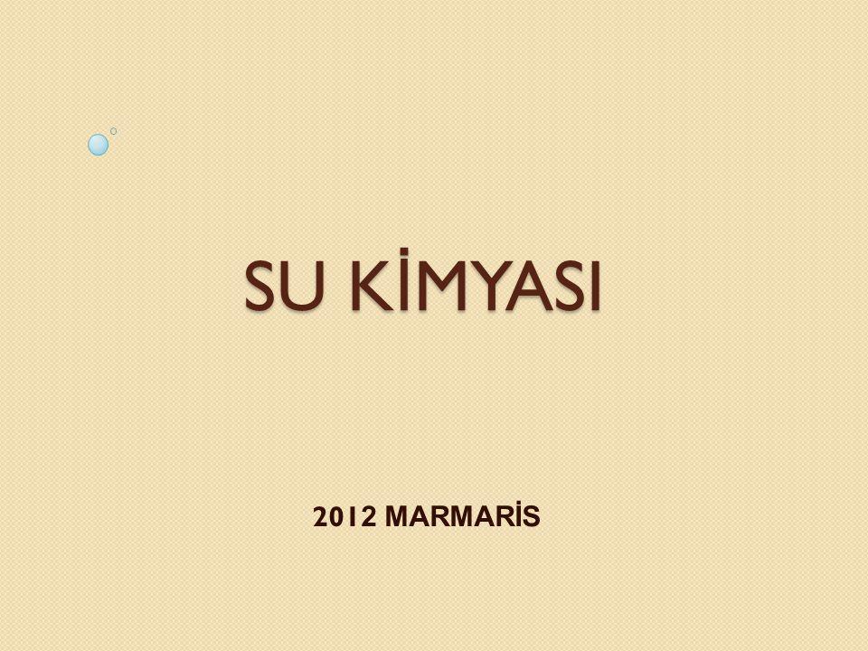 SU K İ MYASI 201 2 MARMARİS