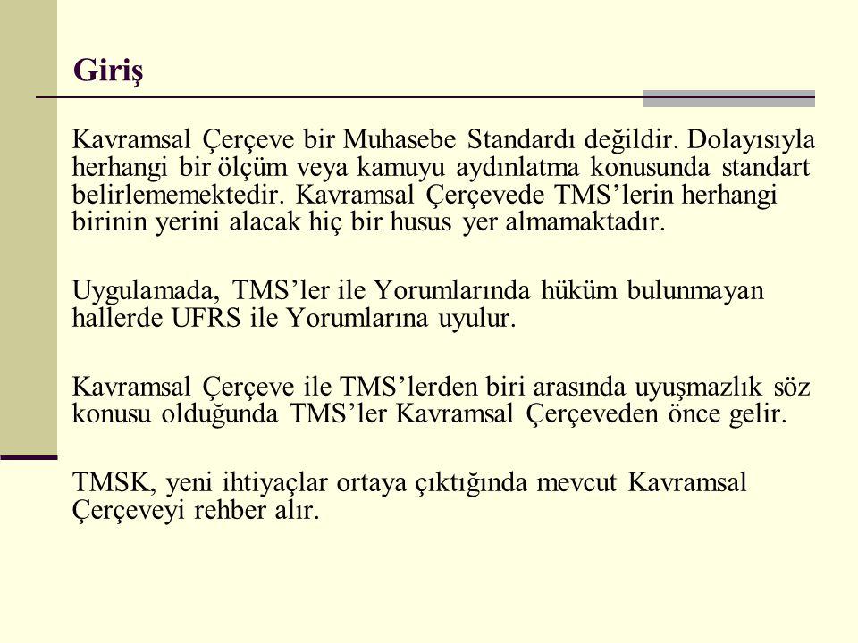 TMS 20- Devlet Teşviklerinin Muhasebeleştirilmesi ve Devlet Yardımlarının Açıklanması (ÖZET) Prof.