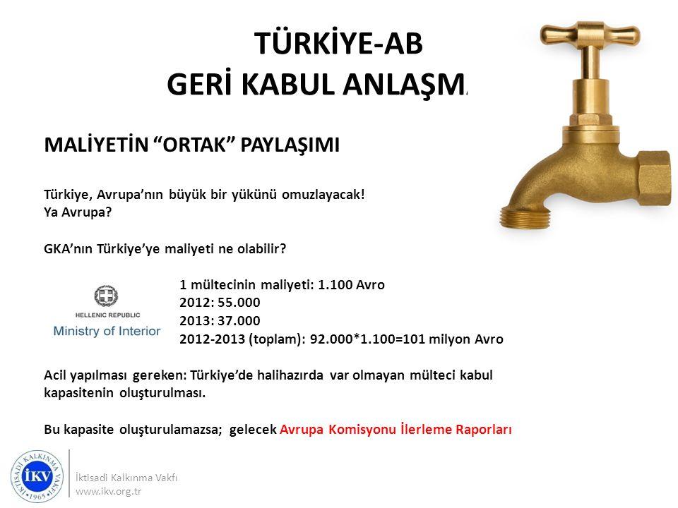 """MALİYETİN """"ORTAK"""" PAYLAŞIMI Türkiye, Avrupa'nın büyük bir yükünü omuzlayacak! Ya Avrupa? GKA'nın Türkiye'ye maliyeti ne olabilir? 1 mültecinin maliyet"""
