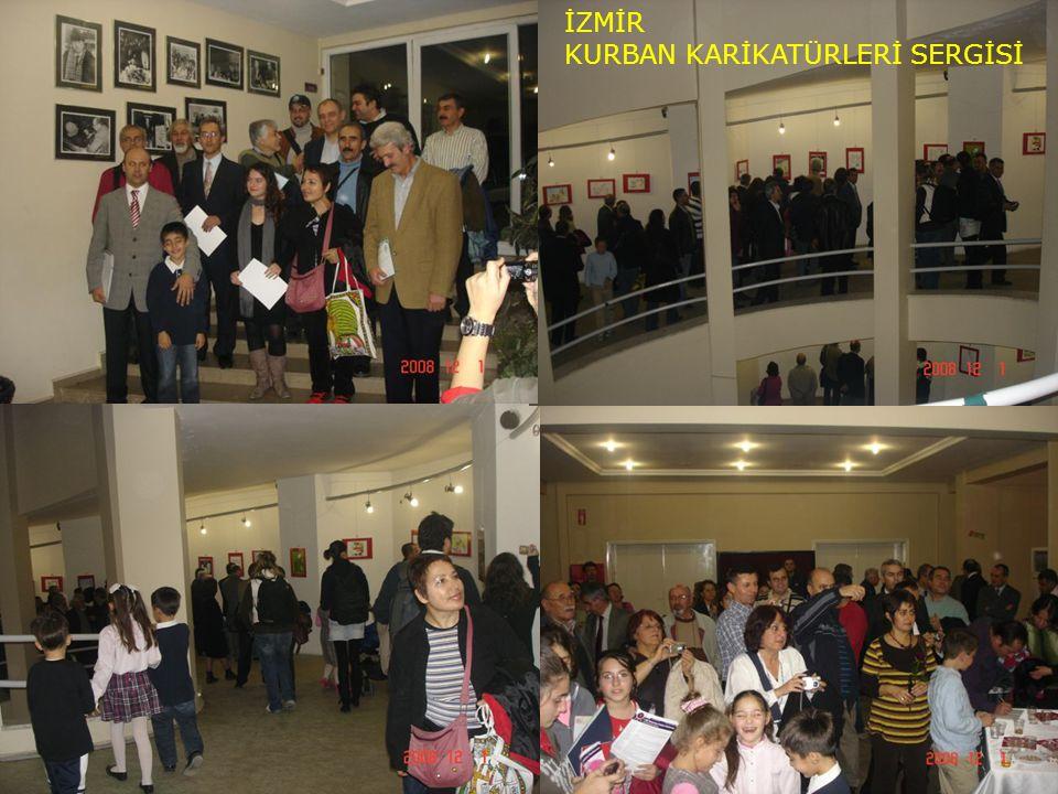 Sergi Fotoğrafları İZMİR KURBAN KARİKATÜRLERİ SERGİSİ