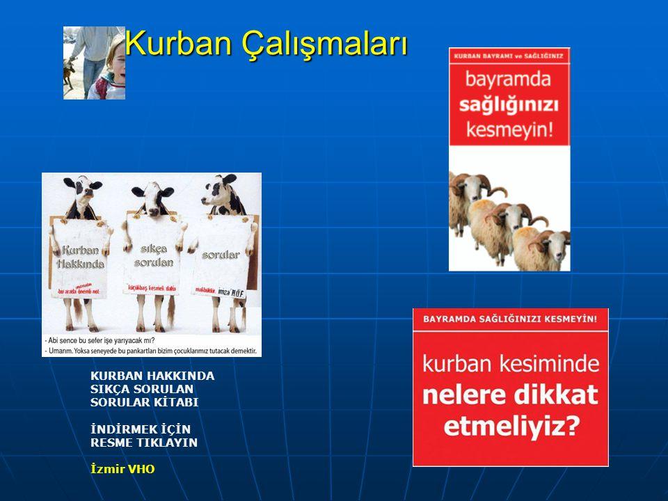 Kurban Çalıştayı 21 Kasım 2007 tarihinde Ankara VHO ve VHD ev sahipliğinde Katılımcı Kuruluşlar : 1.