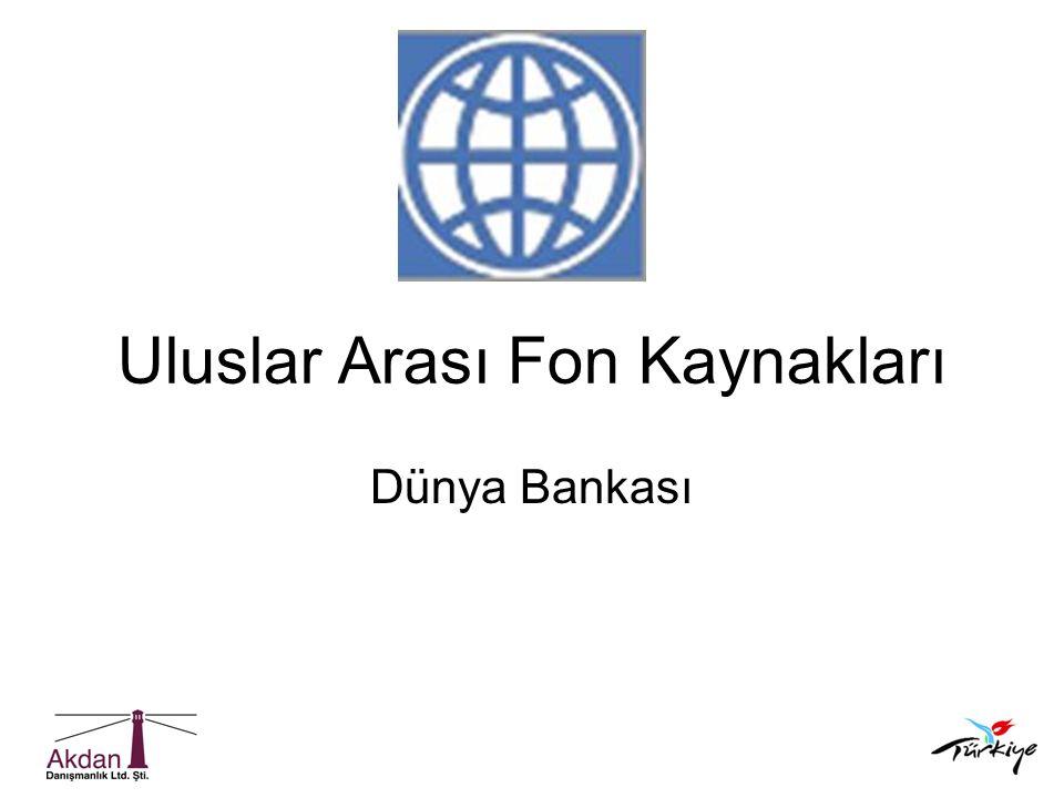 Uluslar Arası Fon Kaynakları Dünya Bankası