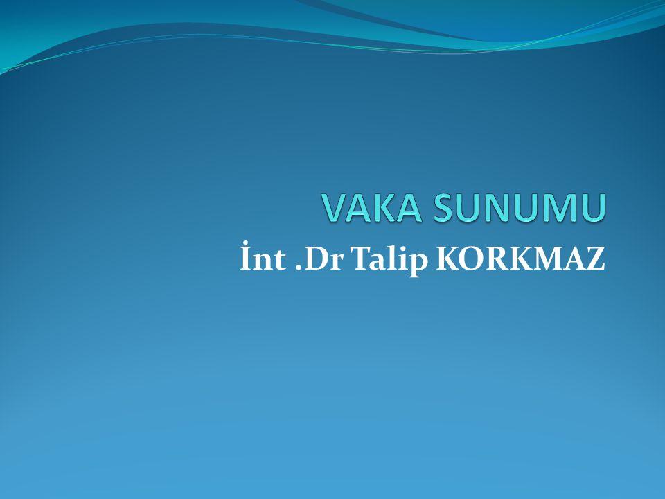 İnt.Dr Talip KORKMAZ