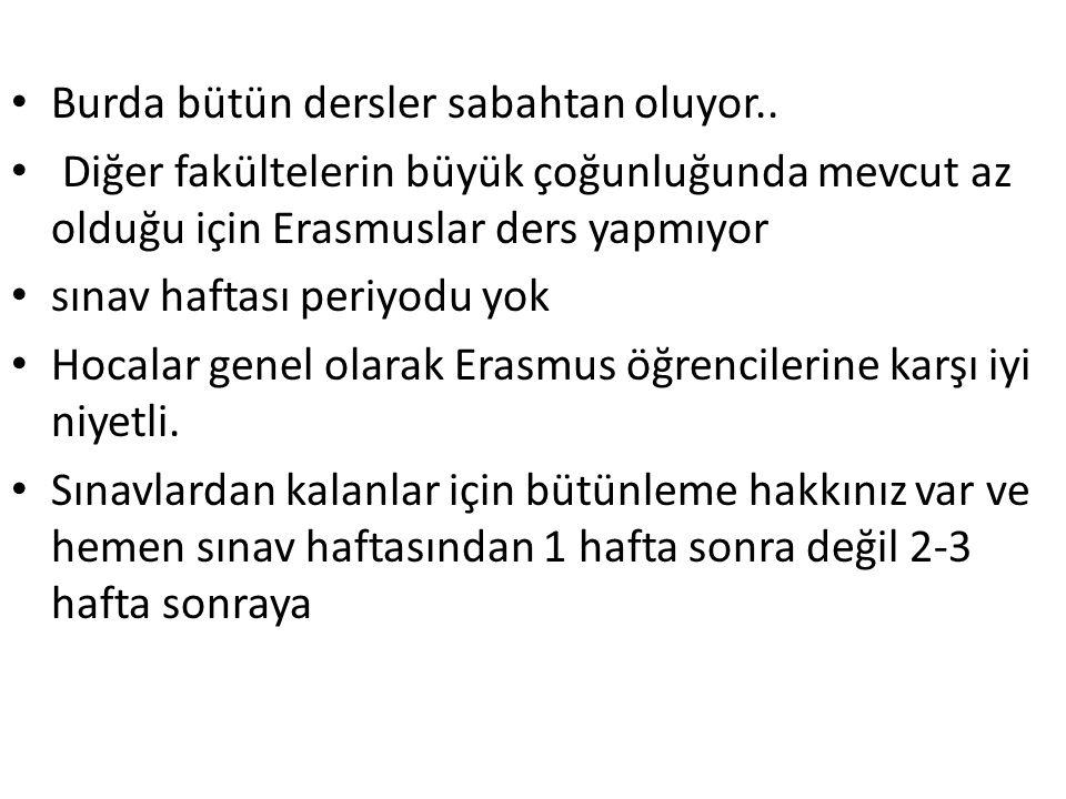Sosyal yaşam • Şehir bir nehirle ikiye ayrılmış durumda • Her yere yürüyerek gidiliyor, şehir ufak • Şehrin bir ucundan diğer ucuna 25 dakikada yürünebiliyor • içki fiyatları içkisine göre değişiyor ama Türkiye den çok ucuz.