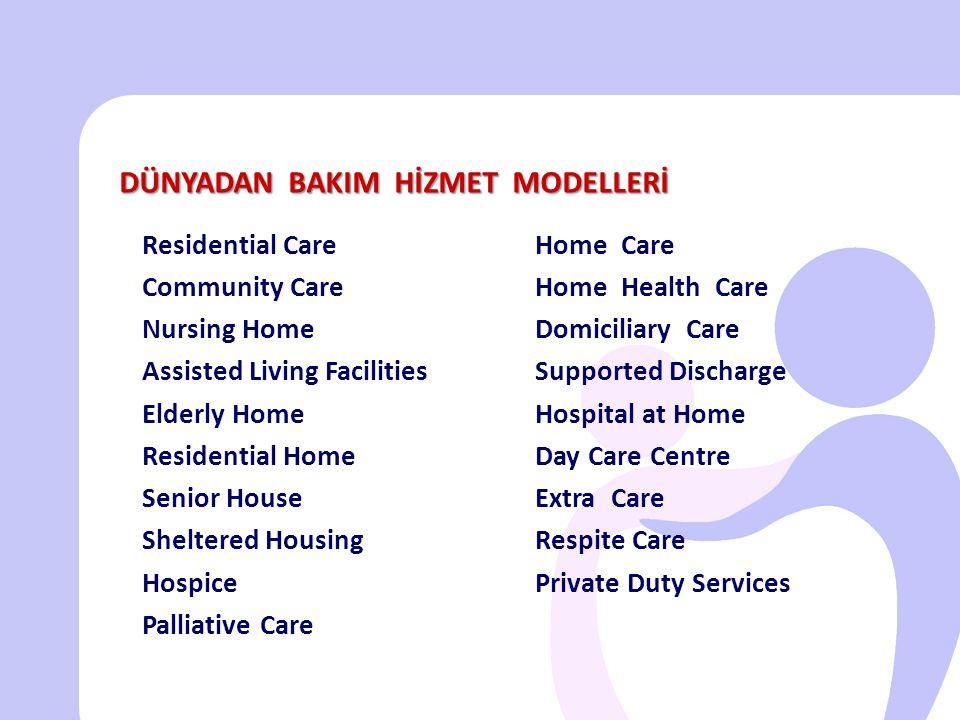 • Evde bakım gereksiniminin belirlenmesi ve hizmet planlaması multidisipliner ekip yaklaşımı ile gerçekleştirilmelidir.