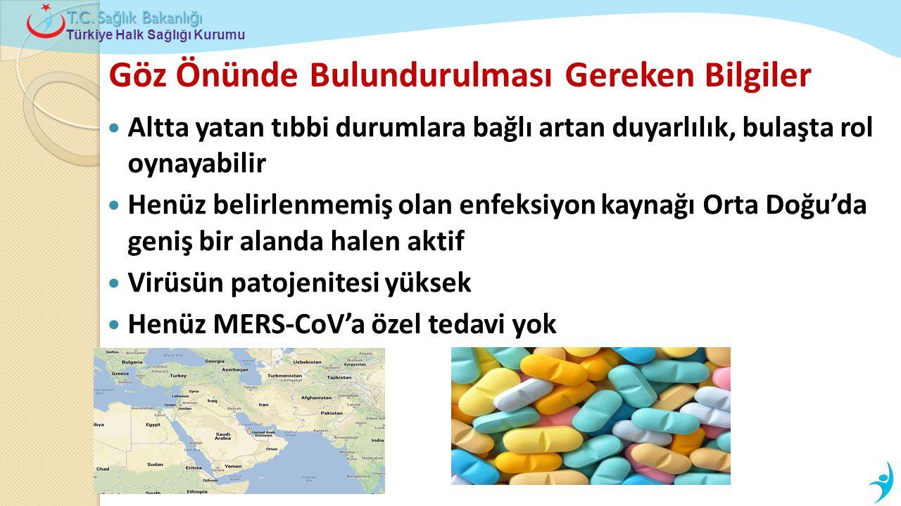 Türkiye Halk Sağlığı Kurumu T.C. Sa ğ lık Bakanlı ğ ı Göz Önünde Bulundurulması Gereken Bilgiler  Altta yatan tıbbi durumlara bağlı artan duyarlılık,