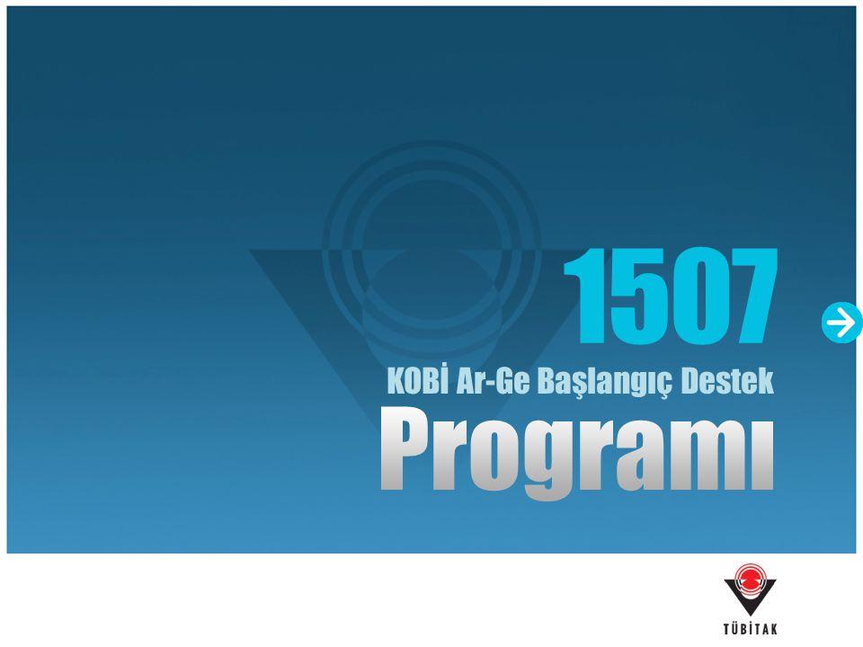 Bu program ile KOBİ'lerin; araştırma, yenilikçi ürün, süreç ve teknoloji geliştirme konularında teşvik edilmesi hedeflenmiştir.