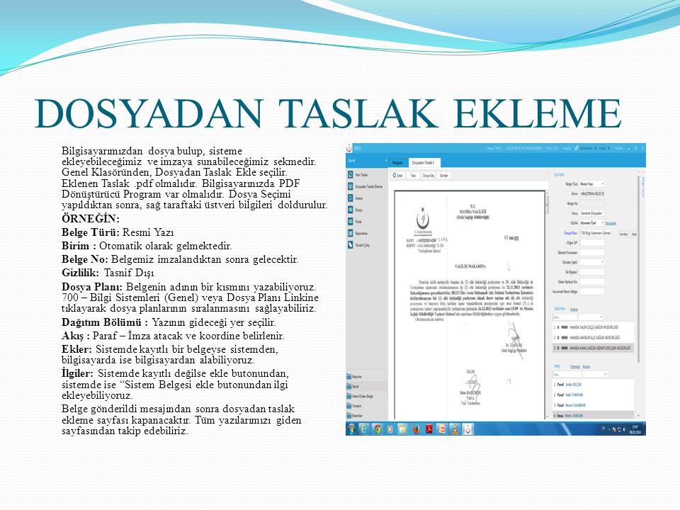 GELEN BELGE KAYIT Gelen Belge Kayıt Ekranı Kurumun Genel Evrak Kayıt Biriminin kullandığı ekrandır.