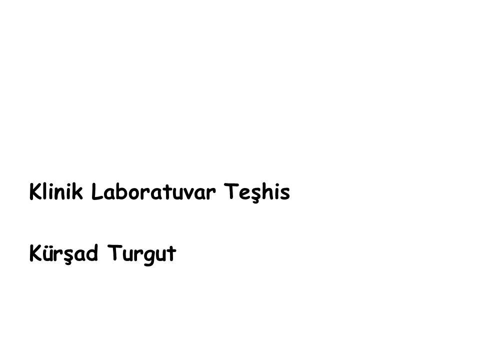 Hemoglobinüri/myoglobinüri Santrifüj/ amonyum sülfat presipitasyon testi Hemoglobinüri -immün hemolitik anemi -Hemobartonella felis/canis -leptospirozis, babesiozis -hipotonik idrar Myoglobinuri -akut musküler travma -hipertermi -myositis Serum CK ↑→ myoglobinuri idrarda gizli kanın pozitif olması eritrosit, serbest hemoglobin veya myoglobin olduğunu gösterir idrarda gizli kanın pozitif olması eritrosit, serbest hemoglobin veya myoglobin olduğunu gösterir