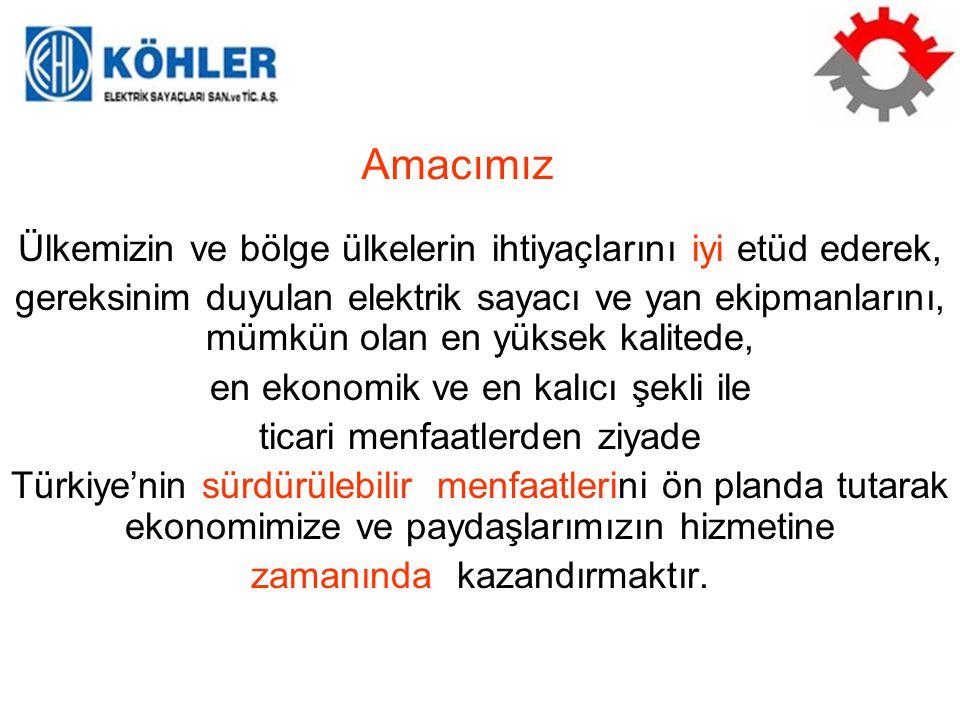 Türkiye'de Elektrik Sayacı ve Köhler 1966, Türkiye'de ilk mekanik elektrik sayacı 1966'da üretildi..