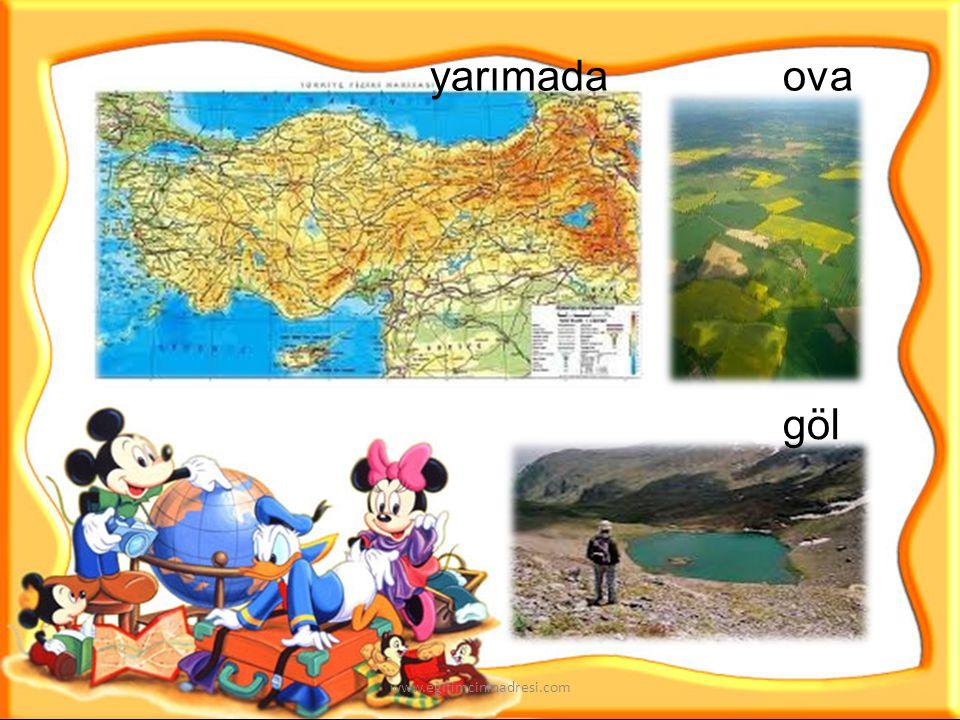 dağ akarsu orman ada www.egitimcininadresi.com