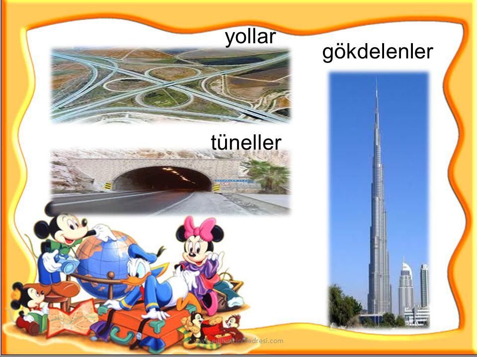 evler barajlar köprüler şehirler www.egitimcininadresi.com